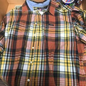Vintage Chaps-Ralph Lauren Plaid Button Down Sz L